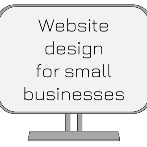 website design for small businesses
